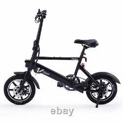 14 36V 6Ah 250W Electric Bike Bicycle Portable City Ebike Dual Disc Brakes
