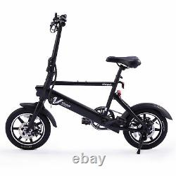 14 Electric Bike Bicycle Portable City Ebike 36V 6Ah 250W Removable Battery