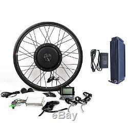 1500W motor + 48V20A Samsung 22P battery Electric Bicycle E bike Conversion kit