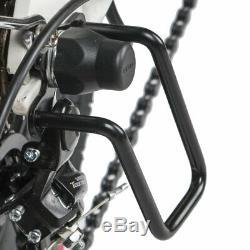 20 Electric Folding Mountain Bike Bicycle 350W 48V 7 Speeds LCD Moped E-Bike US