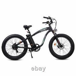 26 750W 48V Mountain Electric Bike Bicycle EBike E-Bike Removable battery LCD