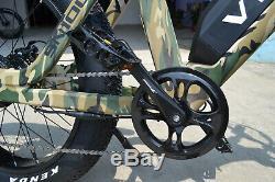 26 Fat Tire 48V750W13AH Electric Bike Beach Mountain City E Bicycle SN100 US