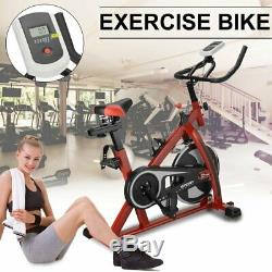 440lb Fitness Stationary Exercise Bike Cardio Indoor Cycling Bicycle Trainer BT