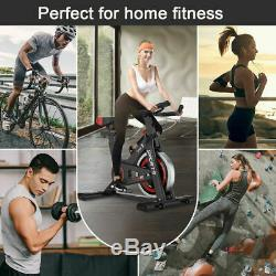 Adjustable Exercise Bike with Flywheel Home Gym Cycling Multipurpose Pro FITNESS