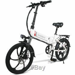 Aluminum Folding Electric Bike 20 Mountain Bicycle E-Bike 48V 350W LCD Screen