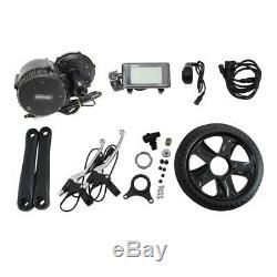 Bafang BBS02 48V 750W Mid-Drive Motor E-Bike Conversion Kits with C961 LCD Display