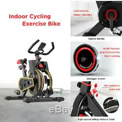 Bicycle Cycling Fitness Gym Exercise Stationary Bike Cardio Workout Indoor Black