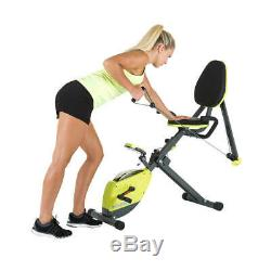 Cardio Folding Bike Fitness Excercise Magnetic Bike Aerobic Home Indoor Gym
