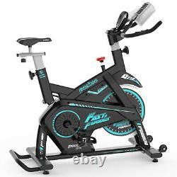 Commercial Magnetic Cycling Stationary Exercise Bike Indoor with Pad/Phone Mount