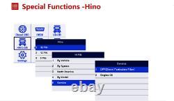 DPF Regen Oil Reset All System Desel OBD Heavy Duty Truck Diagnostic Scanner US