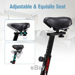 Digital Flywheel Stationary Trainer Exercise Workout Bike Indoor Cardio Bicycle