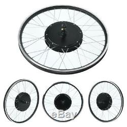 E-Bike Conversion Kit 48V 1500W 26 Heckmotor Fahrrad Umbausatz LCD Display