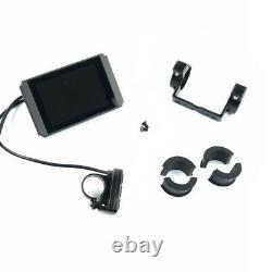 E-Bike/Pedelec Display Bordcomputer KT-LCD8H Tachoanzeige 24V 36V 48V Tachometer