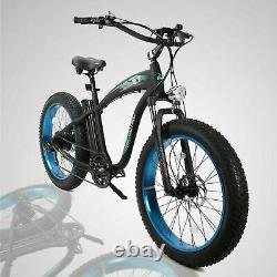 ECOTRIC 26 750W Mountain Electric Bike Bicycle 7Speed 48V 13Ah E-Bike S900 LCD