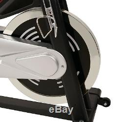 EFITMENT Indoor Cycling Exercise Bike with 40 lb Flywheel, Belt Drive, LCD Monitor