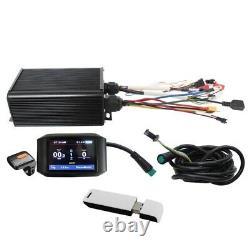 Ebike 36V-72V 45A 1000W-2000W Sine Wave Sabvoton Controller Bluetooth &Color LCD