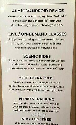 Echelon Connect Smart Exercise Bike Sport Indoor Cycling cardio fitness