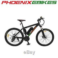 Eco Safari Electric Mountain Bike E-Bike Li-ion Pedal Assist LCD Display B150B