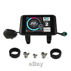 Electric Bike 36-72V 45A 1000W-2000W Controller+ Color LCD +Bluetooth Module