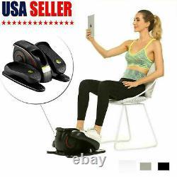 Electric Elliptical Trainer Pedal Exerciser Adjustable Speed Exercise Bike USA