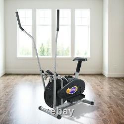 Elliptical Machine Cross Trainer Exercise Bike Cardio Fitness Home Gym Indoor