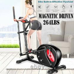 Elliptical Machine Trainer LCD Monitor Exercise Bike Cardio Fitness Home Gym Use