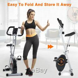 Exercise Bicycle Indoor Stationary Bike Cycling Cardio Gym Workout Fitness LCD