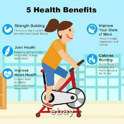 Exercise Bike Bicycle Cycling Fitness Stationary Home Workout Indoor Gym