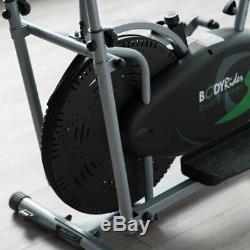 Exercise Bike Elliptical Machine Stationary Trainer Indoor Gym Cardio Weight