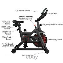 Exercise Bike Fitness Cycling Stationary Bicycle Cardio Workout withLCD Gym Home