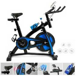 Exercise Bike Indoor Cycling Bicycle Stationary w / LCD Display Home Cardio Gym