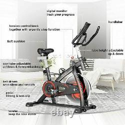 Exercise Bike Upright Stationary Bicycle Cycling 30lbs Flywheel with APP / LCD