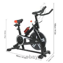 Exercise Stationary Bike Cardio Cycling Fitness Home Indoor Workout Training