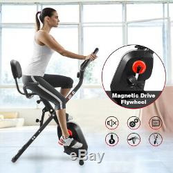 Fitness Workout Gym Home Indoor Exercise Bicycle Cardio 8-Level X-BIKE Training