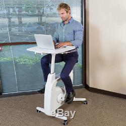 Flexispot Exercise Desk Bike Home Office Height Adjustable Standing Desk Cycle