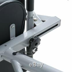 Fodable Recumbent Exercise Bike Stationary Machine Fitness Home Gym Bike MA