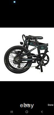 Folding 20 Electric Bicycle 250W Mountain Bike Shimano Moped e-City Bike ebike