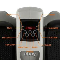 Foot Pedal Exerciser Elliptical Machine Cycle Fitness Digital Cycle Bike Trainer