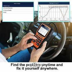 Foxwell NT510 Elite for BMW Full System OBD2 Code Reader Diagnostic Scanner Tool