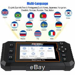 Foxwell NT624 Elite All System Scanner Car Diagnostic Tool Airbag ABS Oil Reset