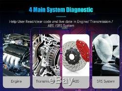 Foxwell NT634Pro Auto Diagnostic Tool OBD2 Scanner ABS SRS SAS TPMS DPF OilReset