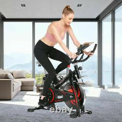 HEKA Exercise Bike Stationary Bicycle Upright Cycling Home Gym Fitness APP-CTRL
