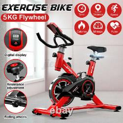Home Exercise Bike Stationary Bicycle Indoor Cycling Cardio Fitness Workout Gym