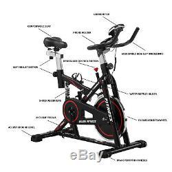 Indoor Exercise Bike Cycle 250 LBS Bike Flywheel Cycling Cardio Fitness Trainer