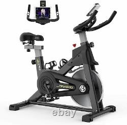 Indoor Exercise Bike Home Gym Bicycle Cycling Cardio Fitness Training Workout