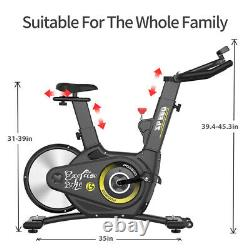 Indoor Exercise Bike Magnetic Resistance Cardio Cycling Machine Stationary Bike