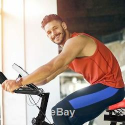 Indoor Exercise Bike Spinning Cycling Stationary Fitness Lcd Display Adjustable