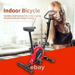 Indoor Exercise Bike Sport Bicycle Fitness Equipment Home Workout Gym LCDDisplay