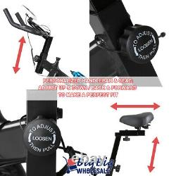 Indoor Exercise Bike Stationary Bicycle Cycling Home Cardio Workout Gym Training