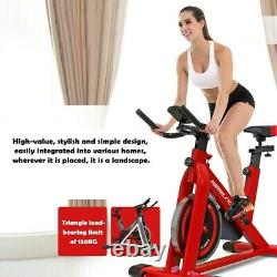Indoor Pro Stationary Exercise Bike Bicycle Cycling Cardio Workout Fitness Gym